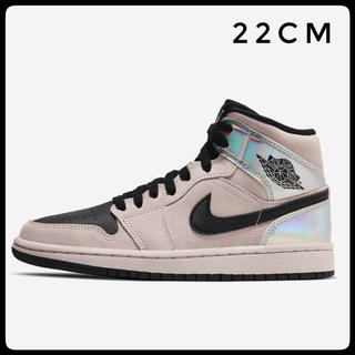 NIKE - 22cm AIR JORDAN 1 mid chrome wings