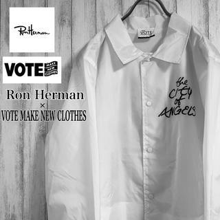 ロンハーマン(Ron Herman)の【新品】Ron Herman x VOTE MAKE NEW CLOTHES(ナイロンジャケット)