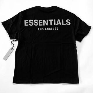 FEAR OF GOD - LA限定!FOG Essentials LA Logo Boxy Tee黒