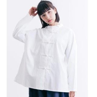 merlot - 【メルロー】チャイナ シャツ