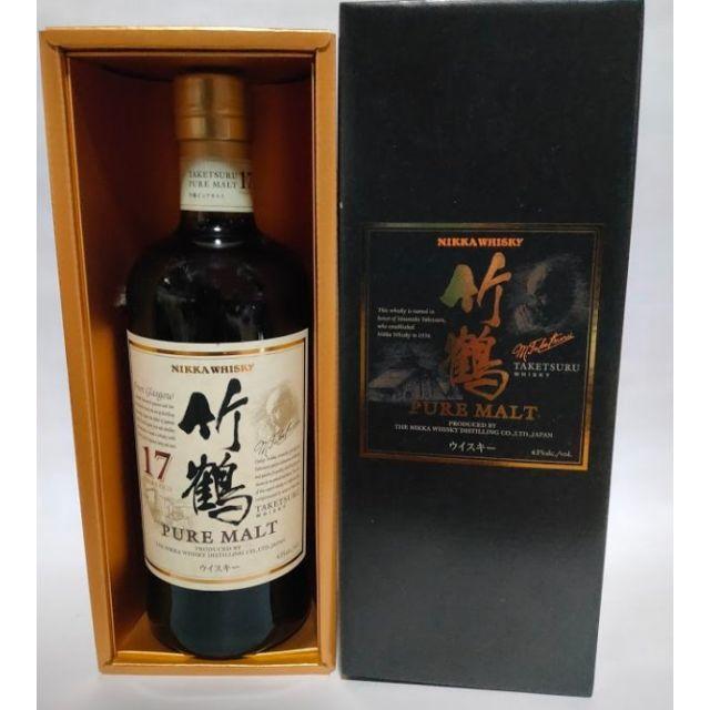 ニッカウヰスキー(ニッカウイスキー)のニッカ 竹鶴 17年 700ml 化粧箱付き 食品/飲料/酒の酒(ウイスキー)の商品写真