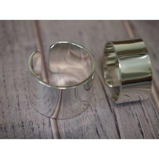 ワイドシルバーリング【silver925】2個組(リング(指輪))