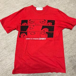 コムデギャルソン(COMME des GARCONS)のコムデギャルソン シャツ tシャツ M(Tシャツ/カットソー(半袖/袖なし))