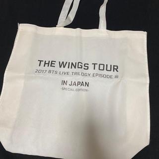 防弾少年団(BTS) - WINGS TOUR Special Edition ショッパーバッグ