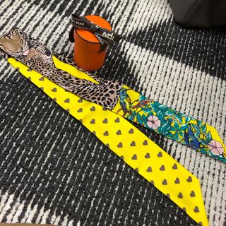 エルメス(Hermes)のエルメス♡ツイリー♡ジャングルラブラブ(バンダナ/スカーフ)