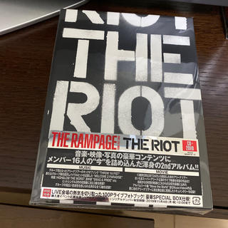 THE RAMPAGE - THE RIOT(DVD2枚付)ランページ
