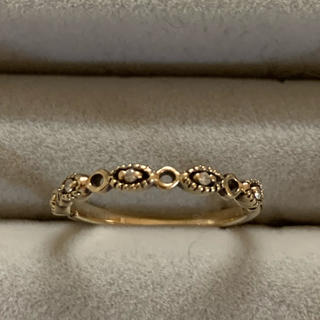K10 ダイヤモンド リング  ドゥミエール ビジュ ソフィア のリングです(リング(指輪))