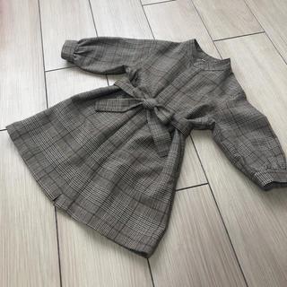 petit main - ☆petit main☆ベルトつきガウンシャツワンピース