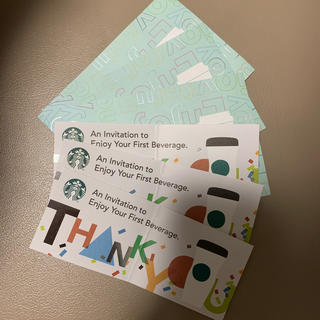 スターバックスコーヒー(Starbucks Coffee)のスタバ ドリンク チケット 6枚セット(フード/ドリンク券)