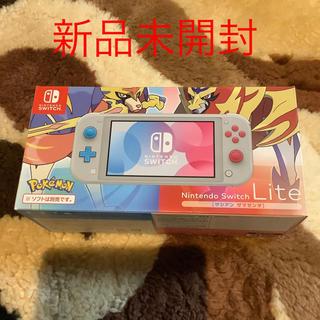 ニンテンドースイッチ(Nintendo Switch)のNintendo Switch  Lite ザシアンザマゼンタ(携帯用ゲーム機本体)
