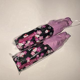 サンリオ - ハローキティ 雨に濡れると柄が浮き出る 折り畳み傘
