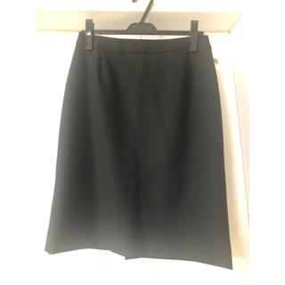 アールユー(RU)のマルイ ru スーツ黒ストライプ スカート(スーツ)