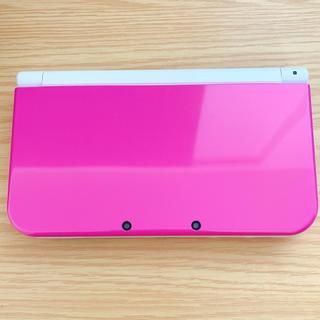ニンテンドー3DS - ニンテンドー 3DS LL ピンク ホワイト 美品