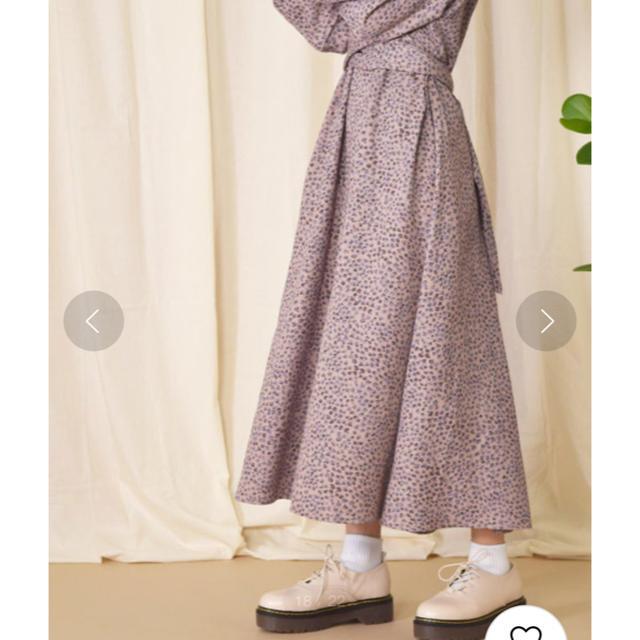 w closet(ダブルクローゼット)の【セール期間中】小花柄カシュクール後ろリボンワンピース レディースのワンピース(ロングワンピース/マキシワンピース)の商品写真