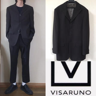 コムデギャルソン(COMME des GARCONS)の90's VISARUNO ビサルノ スーツ ジャケット セットアップ 三つ釦(セットアップ)