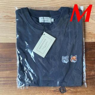 MAISON KITSUNE' - 【新品】メゾンキツネ Tシャツ ブラック M MAISON KITSUNE
