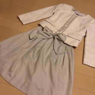 UNTITLED - アンタイトル   ナチュラルビューティー S 入学式 卒業式 スーツ ママスーツ