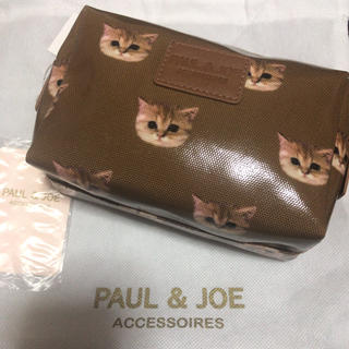 PAUL & JOE - ポールアンドジョー  ヌネット ポーチ 猫