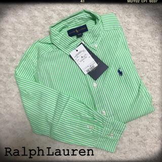 Ralph Lauren - 新品 ラルフローレン キッズシャツ