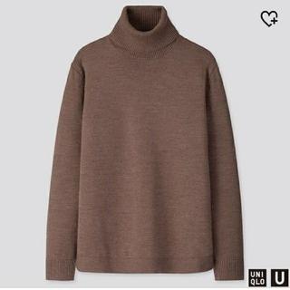 UNIQLO - ユニクロU メリノブレンドタートルネックセーター(2019-2020秋冬型)