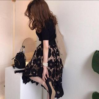 FRAY I.D - ♡ 超絶 かわいい スカート 花柄 彼氏に褒められスカート デート ♡