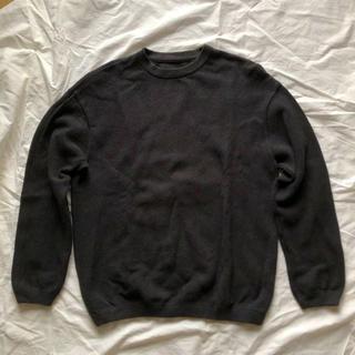 1LDK SELECT - crepuscule moss stitch L/S sweat グレー
