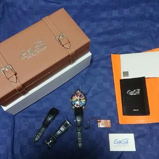 ガガミラノ(GaGa MILANO)のガガミラノ マニュアーレ 48mm手巻き式  限定プリンチ・ペプリヴェ(腕時計(アナログ))