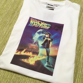 新品・タグ付き◎バックトゥーザフューチャーTシャツ♪(Tシャツ/カットソー(半袖/袖なし))