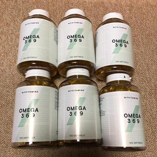 マイプロテイン(MYPROTEIN)のマイプロテイン OMEGA369 6個セット オメガ369(その他)