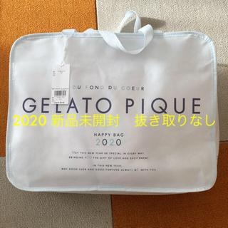 gelato pique - ジェラートピケ 福袋 2020年 新品未使用