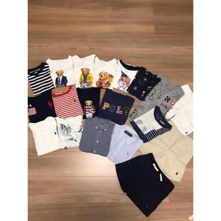 Ralph Lauren - ラルフローレン  ポロベア 110 4T  セット キッズ パンツ Tシャツ半袖