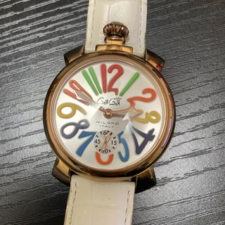 ガガミラノ(GaGa MILANO)の早い物勝ち!ガガミラノ GaGaMILANO 希少 腕時計 手巻き(腕時計(アナログ))