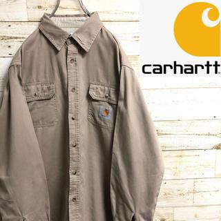 carhartt - *カーハート*長袖シャツ*ワークシャツ*Lサイズ*