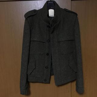 ウーヨンミ(WOO YOUNG MI)の新品 wooyoungmi ウーヨンミ ハリスツイード ジャケット 46(ブルゾン)