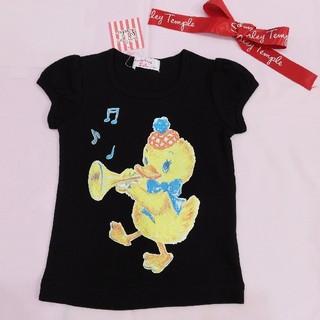 Shirley Temple - 【新品タグ付】シャーリーテンプル あひるの音楽隊Tシャツ 100cm