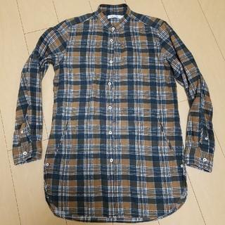 ノンネイティブ(nonnative)のnonnative ノーカラーロングシャツ サイズ0(シャツ)