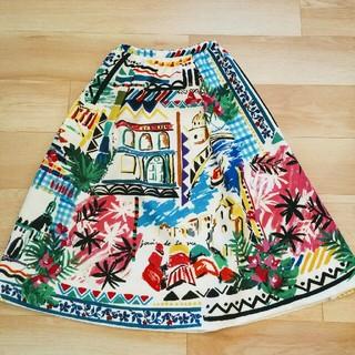 Chesty - チェスティ🌼柄スカート サイズ0