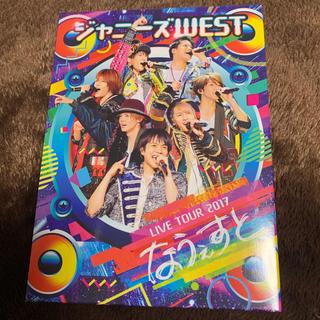ジャニーズウエスト(ジャニーズWEST)の【ジャニーズWEST】  なうぇすと  初回盤 Blu-ray(ミュージック)