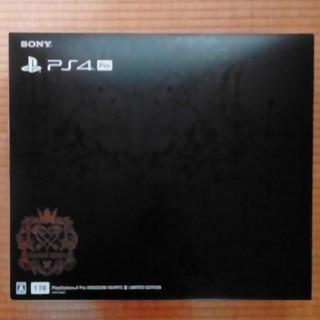 PlayStation4 - 最終値下げ PS4 pro キングダムハーツ3同梱版 新品未開封
