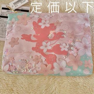 Disney - ミニー ポーチ 桜