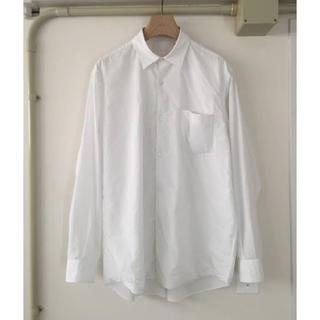 COMOLI - 美品 comoli ダブルフロントコモリシャツ ホワイト サイズ1