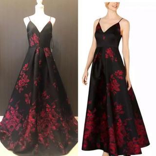 Calvin Klein - 新品 カルバンクライン 豪華 薔薇 ドレス