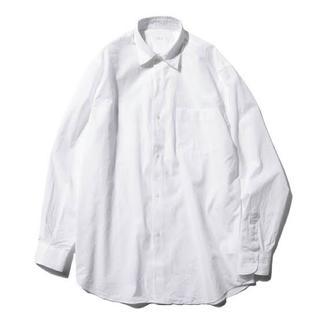 COMOLI - 美品 comoli コモリシャツ ホワイト サイズ2