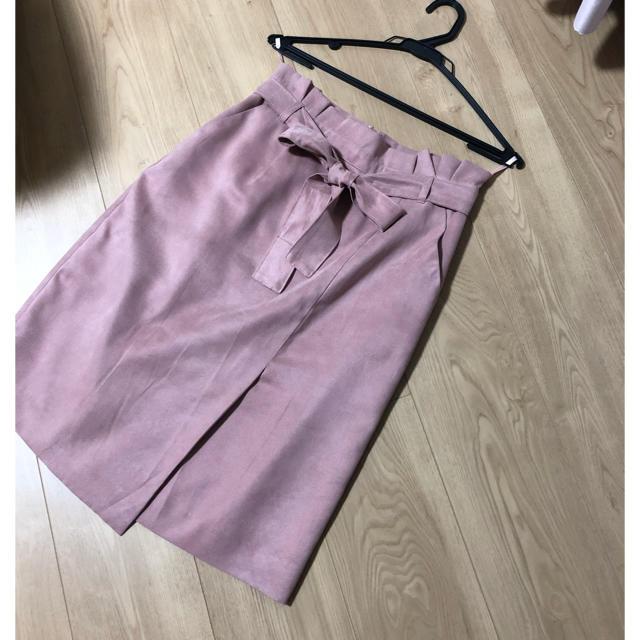 Apuweiser-riche(アプワイザーリッシェ)の❤️アプワイザーリッシェ スェード スカート❤️ レディースのスカート(ひざ丈スカート)の商品写真