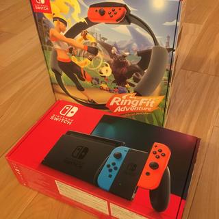 任天堂 - Nintendo スイッチ&リングフィットアドベンチャー