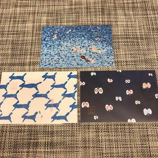 mina perhonen - ミナペルホネン  つづく展 限定ポストカード