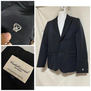 アンダーカバー(UNDERCOVER)のUNDERCOVERISM アンダーカバー 袖刺繍 テーラードジャケット 2 M(テーラードジャケット)