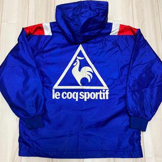 ルコックスポルティフ(le coq sportif)の90s ヴィンテージ ルコック ビッグロゴ ナイロンジャケット ナイロンパーカー(ナイロンジャケット)