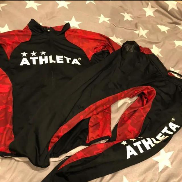 ATHLETA(アスレタ)のアスレタ ジャージ上下セット スポーツ/アウトドアのサッカー/フットサル(ウェア)の商品写真