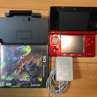 ニンテンドー3DS - 任天堂 ニンテンドー 3DS MH3G モンスターハンター3G セット